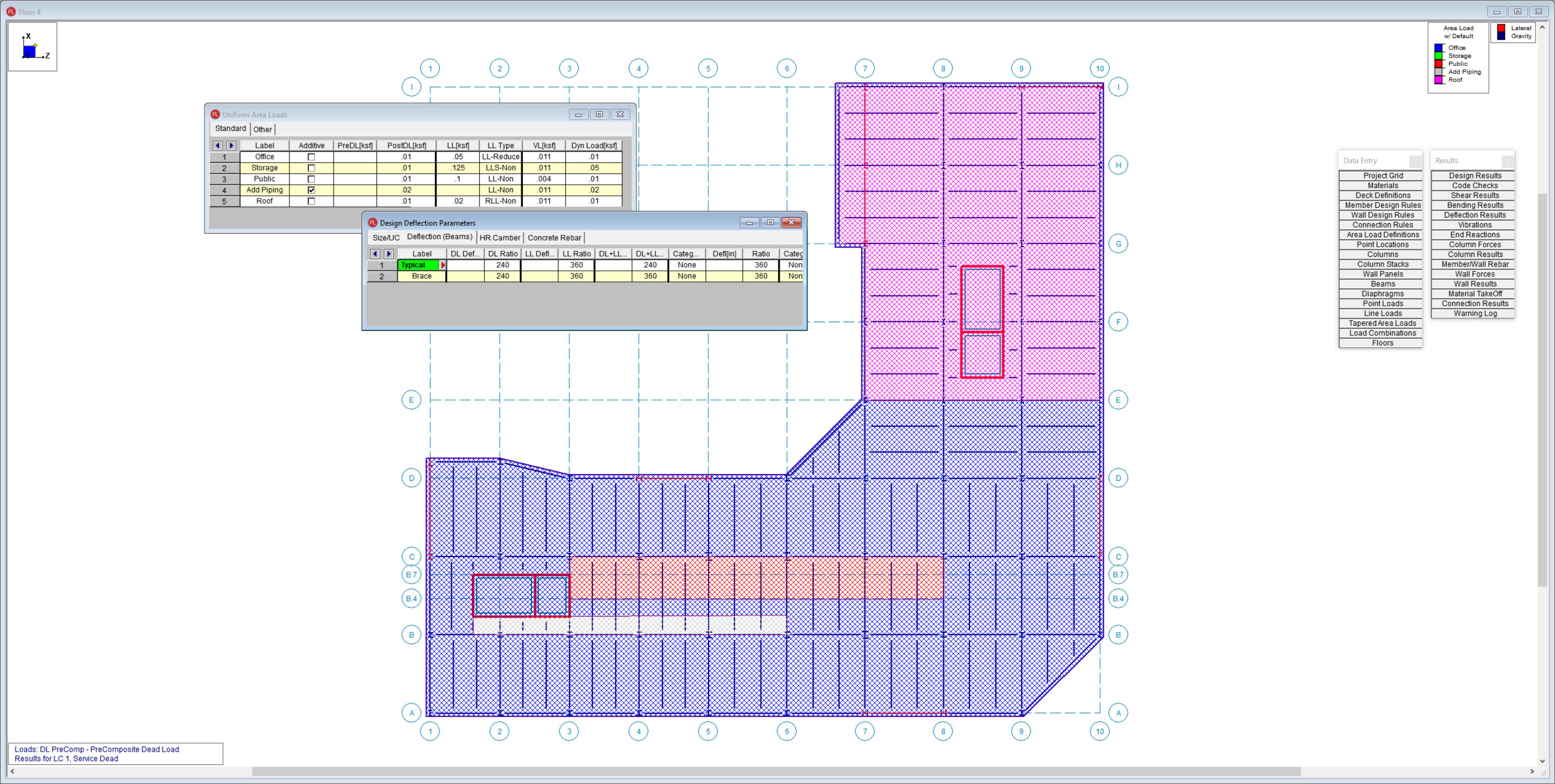 Automated Floor Loading Optimization