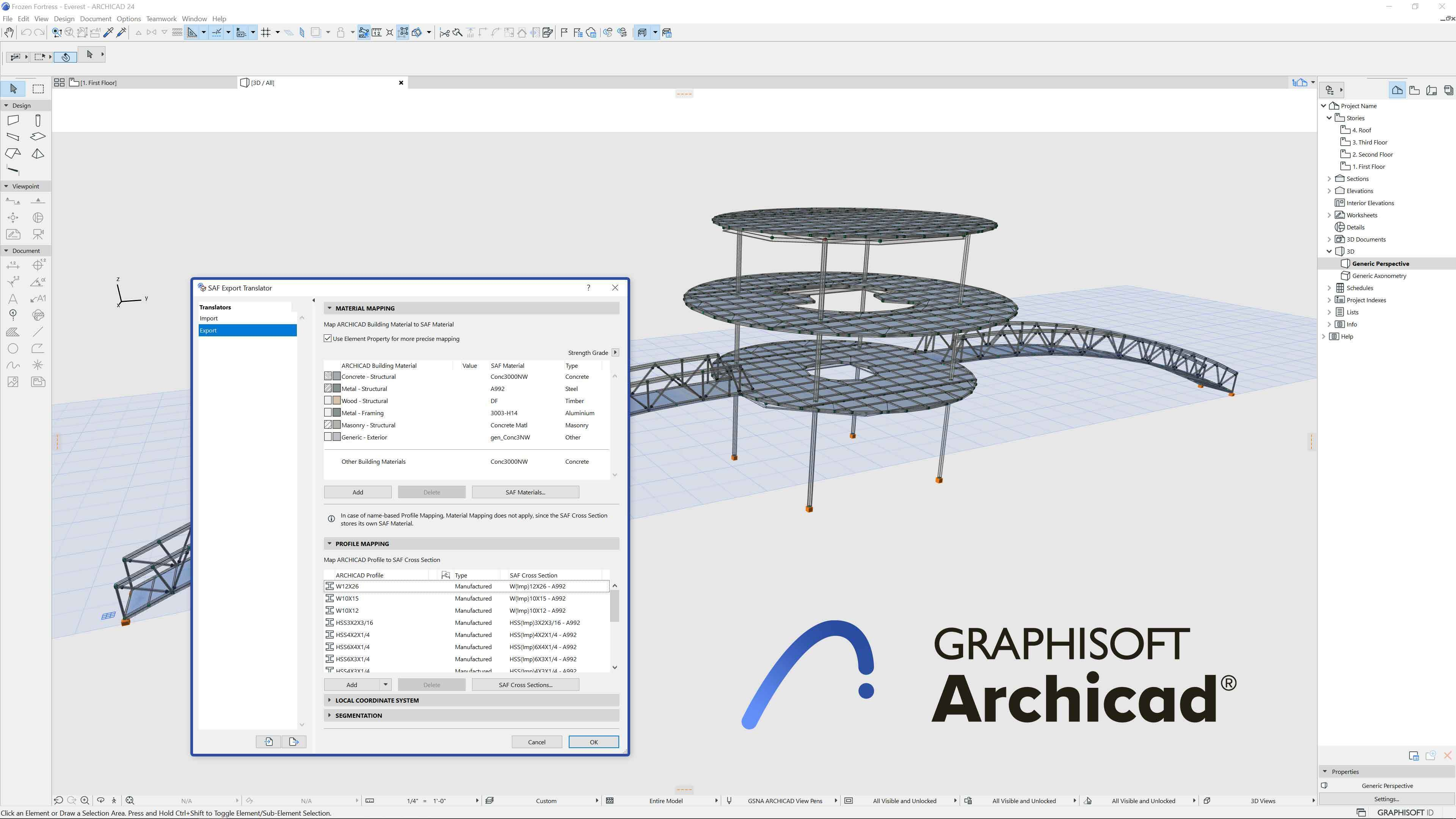 Link archicad index