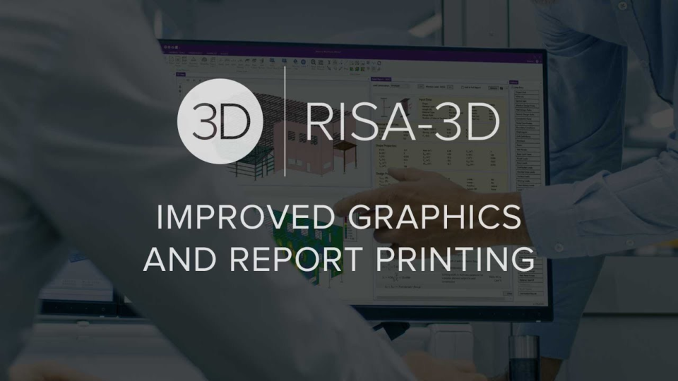 Improved graphics and reports printing