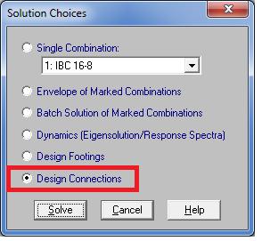 3 D Solve Conn
