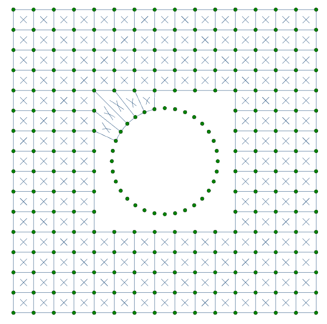 Plate hole 5