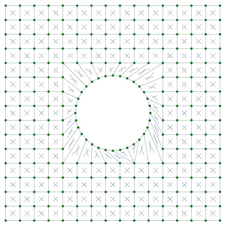 Plate hole 6