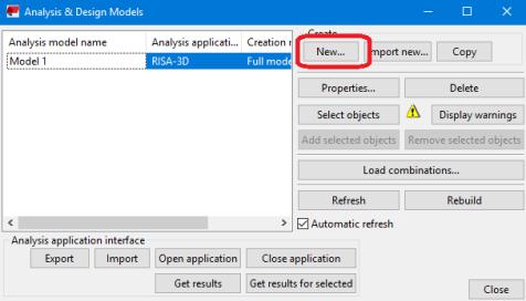 RISA-3D/Tekla Link Integration Procedure