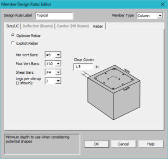 Member Design Optimization